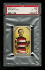 PSA 4  ALBERT KERR  1911 C55 Imperial Tobacco Hockey Card #10