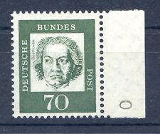 Bund/BRD 358y  Einzelm.m.RR Teil-BZN (70) -Bedeut.Deutsche- ** Postfrisch 1961