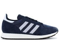 adidas Originals Forest Grove Sneaker D96630 Blau Freizeit Schuhe Turnschuhe NEU