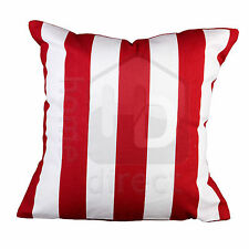 Unbranded Striped Square Decorative Cushions