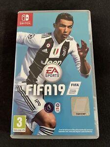 EA Sports FIFA 19 Nintendo Switch Game