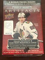 2020-21 Upper Deck Artifacts Hockey Blaster Box - New Sealed - 7 Packs - 35 card
