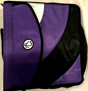 "Case-it ""The Dual 2.0"" - Dual Ring Binder With 4 Inch Capacity purple blue"