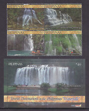 Philippines Stamps 2014 MNH Philippine Tourism Waterfalls complete set