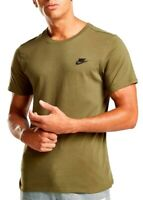 New Men's Nike Logo T-Shirt, Top - Retro Vintage Branded Sports - Green