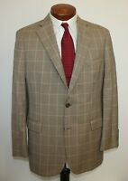 Brooks Brothers Houndstooth Blazer Sport Coat Madison Fit 2 Button Men's 42 R