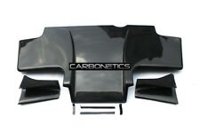 Nissan Skyline R33 GTR Top- Secret Rear Diffuser Type 1 With Fitting Kit Carbon