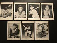 1964 CLEVELAND INDIANS Team PHOTO Lot of 7 BIRDIE TEBBETTS Joe AZCUE 5x7 Smith