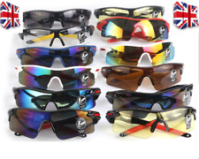Men Women Outdoor Sport Glasses Mountain Bike,Cycling Motorcycle Sunglasses (UK)