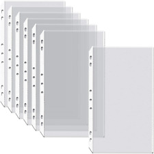 Poly Sheet Protectors 100 Pack Box Legal Size Clear Heavyweight 85 X 14
