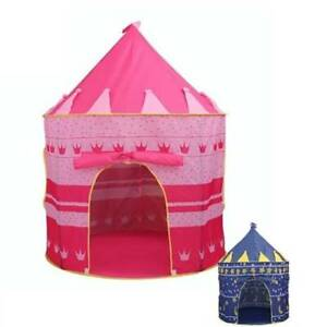 Outdoor Folding Cubby Toys Playtent Castle Play House Game Portable Kids Tent SL