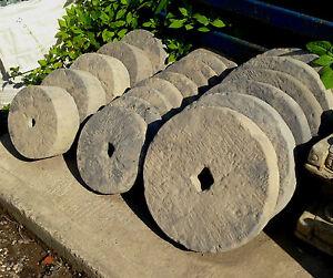 Garden Feature Ornament - Millstones/Grinding Wheels