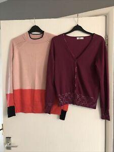 Ladies -Women's -Clothes Bundle Size 10/12 -Eur 38/40 -Cardigan Jumper Bundle