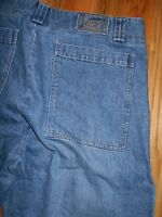 Jeans Mens 42x35 Marthe Francois Girbaud Cinch Leg Blue Denim Pants 6J134
