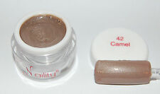 Gel de couleurs UV Led  7ml camel n°42 Naility  soak off gel color