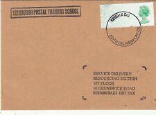 EDINBURGH POSTAL TRAINING SCHOOL COVER. Fun/Bogus/Fake.Rfno.151.