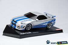 Kyosho MINI-Z Body NISSAN SKYLINE GT-R R34 The FAST and the FURIOUS MZG34WS