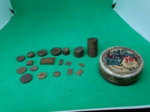 Vintage Selection Weights-Postal Scale Weights Mixed selection