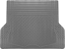 Trunk Cargo Floor Mats for SUV Van Truck All Weather Rubber Grey Auto Liners