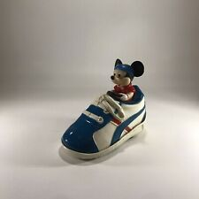 Vintage Walt Disney illco Mickey Mouse Driving Shoe Car Toy Friction Toy Sneaker