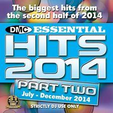 DMC Essential Hits 2014 Part 2 Year End Chart Music DJ CD