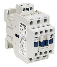 Contactor SCHRACK Cubico Classic AC3 15kW/32A 400V, 1NO+1NC 24VAC or 230VAC