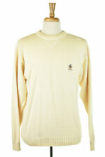 Tommy Hilfiger Men Sweaters Pullovers LG Ivory Cotton