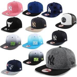 New Era Cap Snapback 9Fifty New York Yankees Patriots Chicago Bulls #K2