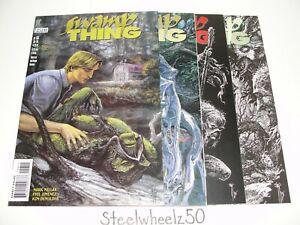 Swamp Thing #156 160 162 & 163 Comic DC Vertigo 1995 Mark Millar Phil Hester HTF