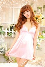 Lady Women Lace Lingerie Babydoll Sleepwear Underwear G-string Nightwear