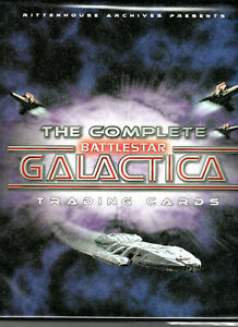THE COMPLETE BATTLESTAR GALACTICA 2004 FACTORY BINDER ONLY (NO CARDS INCLUDED)