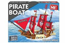 M.Y LARGE PIRATE SHIP SET 709 BRICK PIECES HOURS OF FUN NEW SEALED BARGAIN XMAS