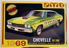 1969 Chevrolet Chevelle SS 396 2´n1 Kit 1:25 AMT 1138 wieder neu 2019 wieder neu