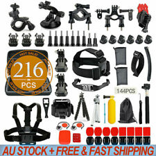 Accessories Pack Case Chest Head Floating Monopod GoPro Hero 7 6 5 4 3 2 216pcs