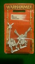 Warhammer Fantasy Savage orc command group OOP