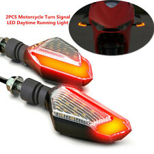 2PCS Motorcycle Turn Signal 22 high-bright LED chips LED Daytime Running Light