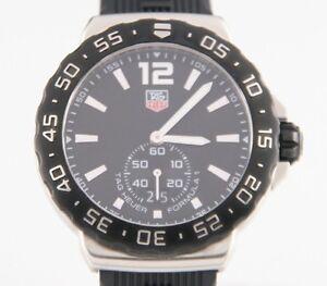 Tag Heuer Men's Formula Quartz Watch w/ Rubber Tag Heuer Band WAU-1110