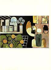 """L/'ESCARGOT /"""" COLOR Art Print offset Lithograph 1973 Vintage MATISSE /""""THE SNAIL"""
