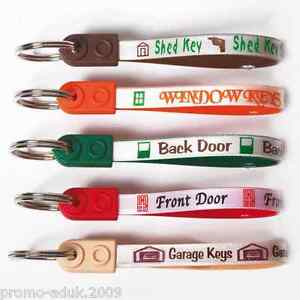 Loop keyrings Diesel key ring, unleaded, Spare, Front door, Window,