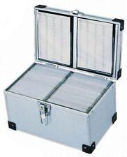 Neo 200 Disc CD/DVD DJ Style Carry Silver Aluminium Case