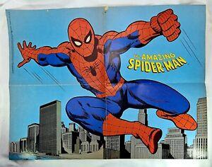 1978 Original Amazing Spider-man 21x16 Marvel Comics poster 1:1970's Marvelmania