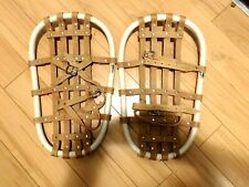 "Snow Shoes HEAVY CANVAS AND RIVETS Youth ~ 18' X 12"" ~ Made in USA! UNISEX"