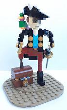 Constructibles® Pirate Captain Mini Model LEGO® Parts & Instructions Kit