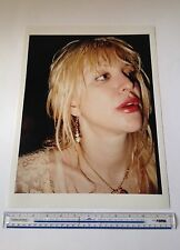 Courtney Love / Hole  C-type Colour Print 16 inch x 12 inch hand printed