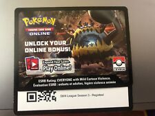 Pokemon TCG Online SM4 League Season 3 - Registeel Code Card
