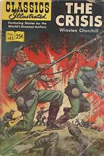 1958 Classic Illustrated-The Crisis No. 145-Winston Churchill-Hrn 166