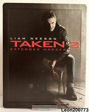 TAKEN 2 Steelbook Play Excl Limited Edition (UK Bluray ABC+UV) RARE NEW & SEALED