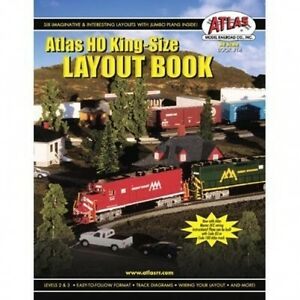 Atlas #14 HO Scale -  King Size Layout Book