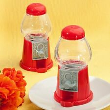 1 Classic Red Candy Dispensing Dispenser Favor Wedding Birthday Party Sweet 16