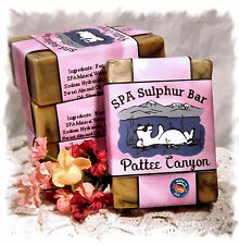 Wild Berry Musk _Pattee Canyon SPA Sulphur Mineral Soap Made in Montana_Handmade
